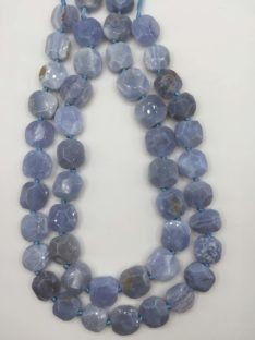 Kalcedon plava cipka 16×16 mm