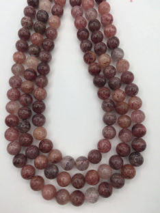 Jagoda ( Strawberry ) kvarc 10 mm