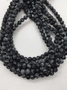 Obsidijan pahuljica 6 mm