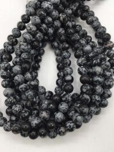 Obsidijan pahuljica 8 mm