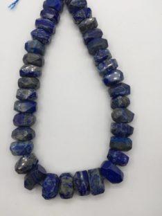 Lapis lazuli fasetirani grumeni