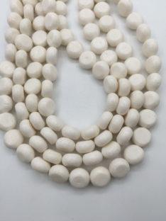 Koral beli 13×7 mm