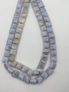 Kalcedon plava čipka kvadratići