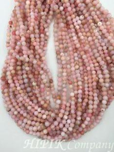 Opal ružičasti 4-5 mm