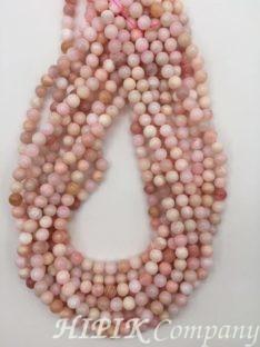 Opal ružičasti 7 mm
