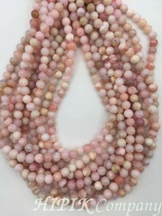 Opal ružičasti 6 mm
